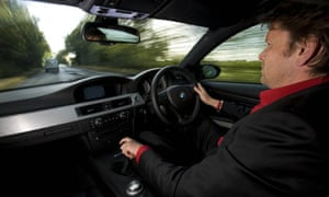 Blog TV chef James Martin driving
