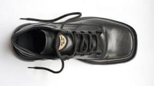 al Zaidi released: A replica of the shoe thrown by Muntazer al-Zaidi at George W Bush