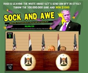 al Zaidi released: sock and awe game