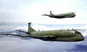 RAF BAE Nimrods