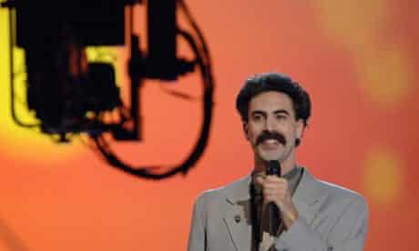 Sasha Baron Cohen as Borat Sagdiyev at MTV Movie Awards