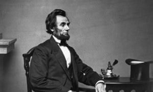 Abraham Lincoln in 1861