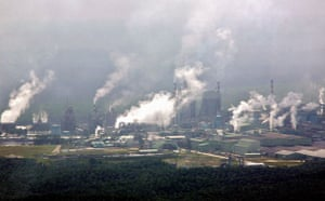 Deforestation in Sumatra: Pollutants rise from a palm oil factory