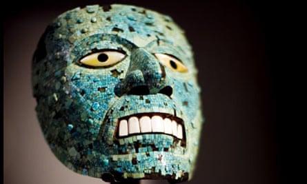 Mosaic mask of the god Tezcatlipoca