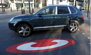 Congestion charge hits gas-guzzler cars