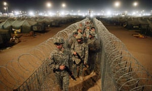 Camp Bucca in Iraq