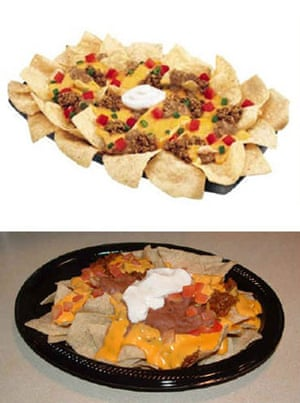 Advertising v reality: Taco Bell nachos
