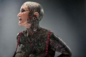 Guinness World Records: Guinness world records Most Tattoed Senior Citizen