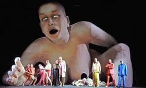 Le Grand Macabre at the Coliseum