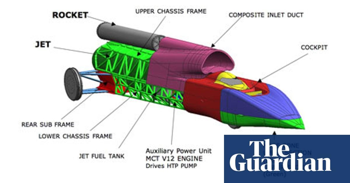 Bloodhound supersonic car project faces design dilemma