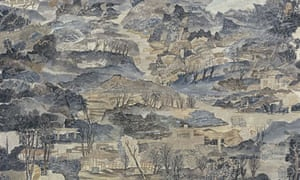 Last Days Before The Flood, 2006, mineral pigments and ink on mulberry paper, 190 x 170 cm. Courtesy of the artist and James Cohan Gallery, New York Photograph: PR