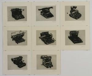 William Kentridge: Typewriter II -IX