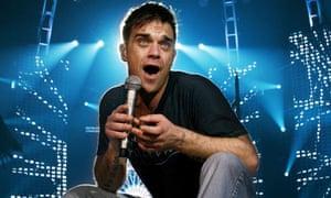 Robbie Williams Concert, Melbourne, Australia, Dec 2006