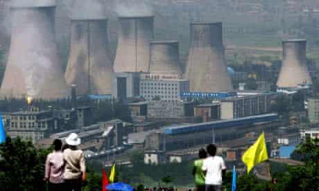 Power plant in Zhangjiakou, China, 2005