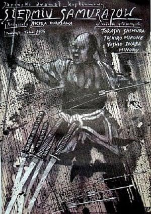 Cinéphilia Polish posters: Polish poster - Seven Samurai