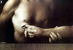 Cinéphilia Polish posters: Caravaggio