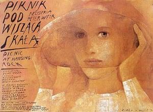 Cinéphilia Polish posters: Picnic at Hanging Rock