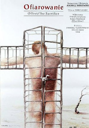 Cinéphilia Polish posters: The Sacrifice