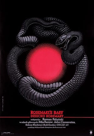 Cinéphilia Polish posters: Rosemary's Baby