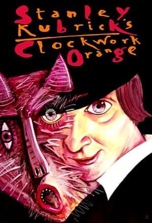 Cinéphilia Polish posters: A Clockwork Orange