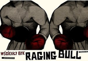 Cinéphilia Polish posters: Raging Bull poster