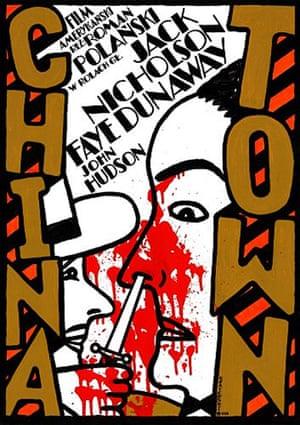Cinéphilia Polish posters: Chinatown Polish poster