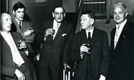TS Eliot at Faber cocktail party 1963
