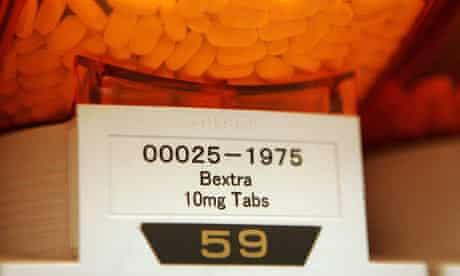 Pfizer painkiller Bextra