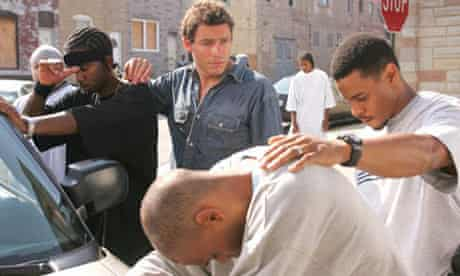 McNulty and Sydnor in The Wire