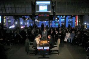 Kasparov v Karpov: Antoly Karpov and Garry Kasparov in 2002
