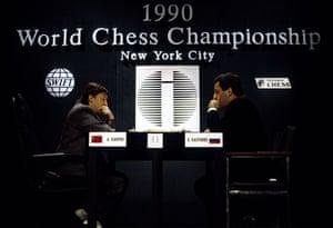 Kasparov v Karpov: Kasparov and Karpov Play for World Chess Championship