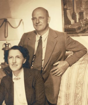 P G Wodehouse: PG Wodehouse and his wife Ethel May Wayman
