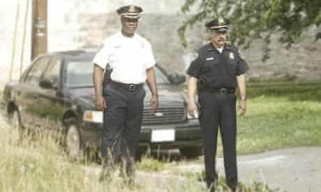 Bunny Colvin and Dennis Mello search for a location for Hamsterdam in The Wire.