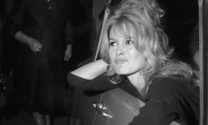 e775e95a266bc6 Brigitte Bardot faces the photographers at a film party in 1960.  Photograph  RDA Getty Images