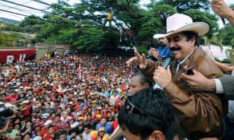 Ousted Honduran President, Manuel Zelaya