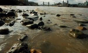 The River Thames at Bermondsey