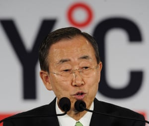 New york climate week: UN  Secretary General Ban Ki-Moon