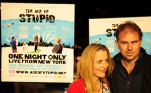 New york climate week: Age of Stupid, Actress Gillian Anderson