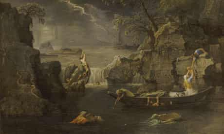 Winter - The Deluge by Nicolas Poussin