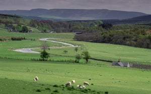 State of English rivers: Coquet Dale, UK
