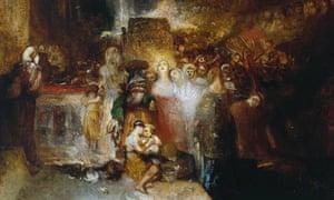 JMW Turner's Pilate Washing his Hands