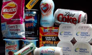 Food and drinks containing aspartame