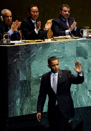 Climate week in New York: US President Barack Obama