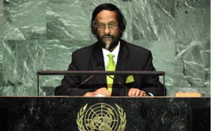 Climate week in New York: Intergovernmental panel on climate change chairman Rajendra Pachauri