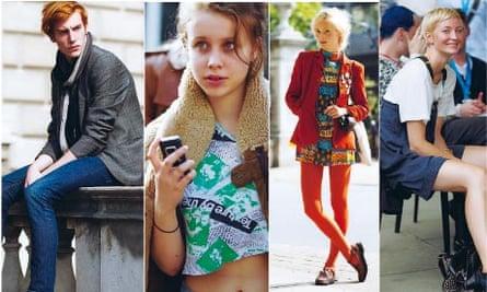 The Sartorialist's stylish Londoners.