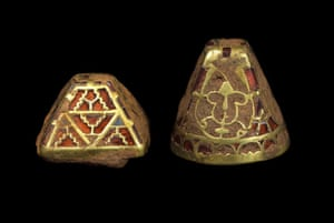 Staffordshire hoard: Pyramid sword fittings