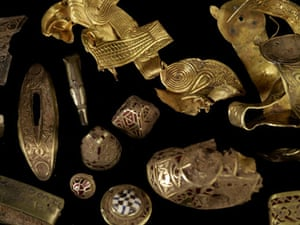 Staffordshire hoard: Finds from the Staffordshire hoard