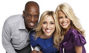 The three Live From Studio Five presenters