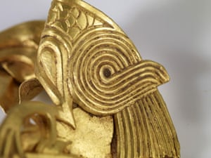 Staffordshire hoard: Fish and Eagles