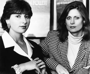 Sarah Brown: with Julia Hobsbawm running pr firm Hobsbawm Macaulay Communications 1995